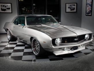 1969 CHEVROLET CAMARO SS CUSTOM 2 DOOR COUPE