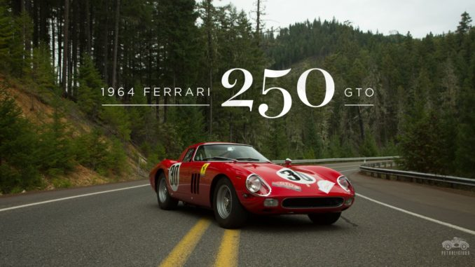 this ferrari 250 gto hill climb