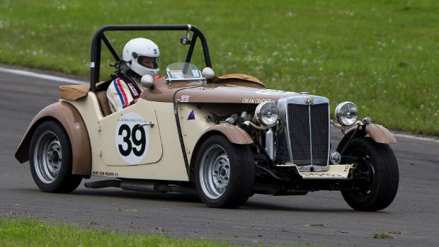 The annual MG Classic meet is back at Manfeild this weekend.