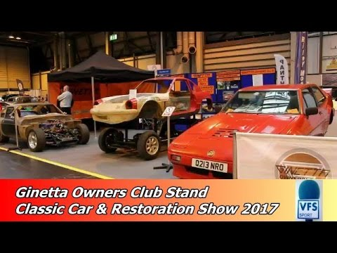 ginetta car club stand classic c