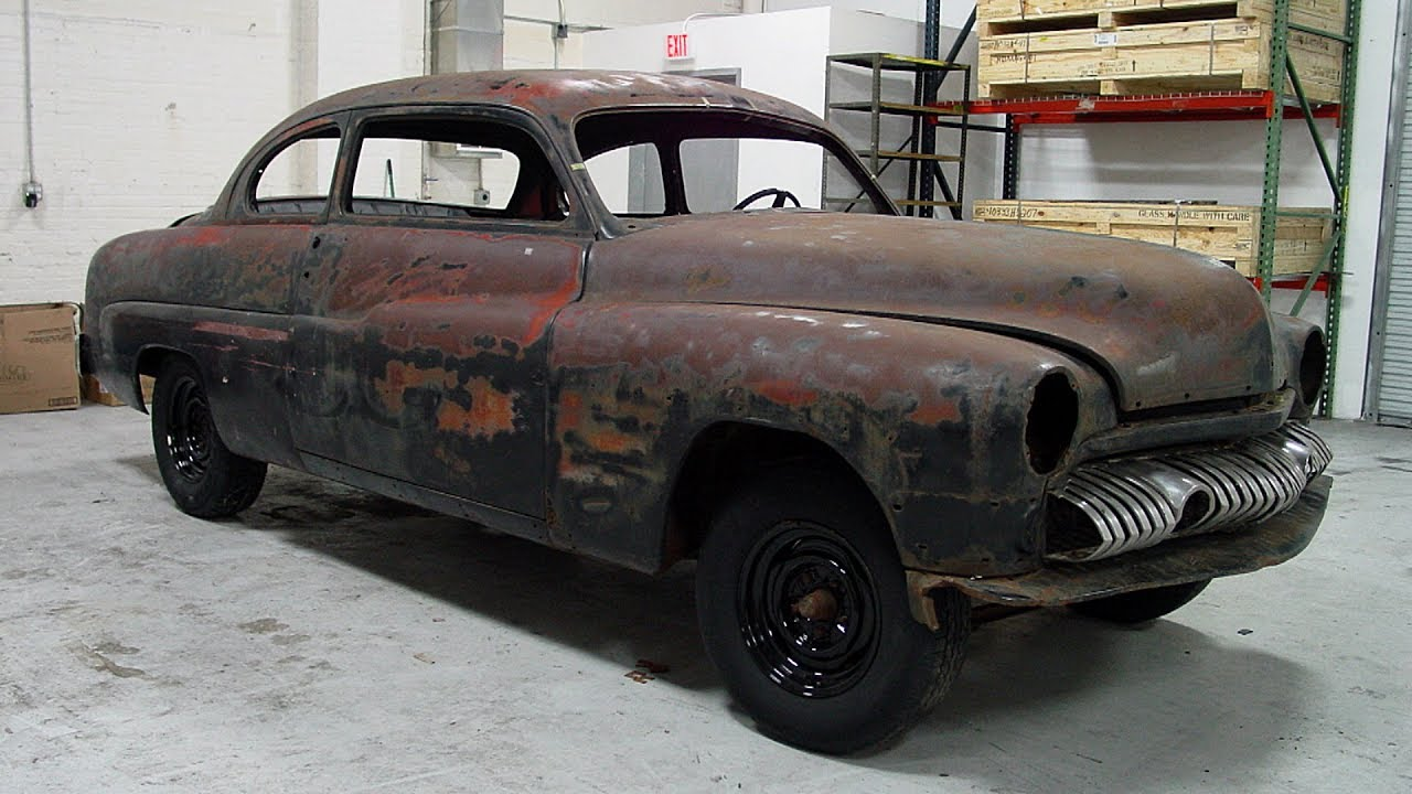 1951 mercury eight restoration p