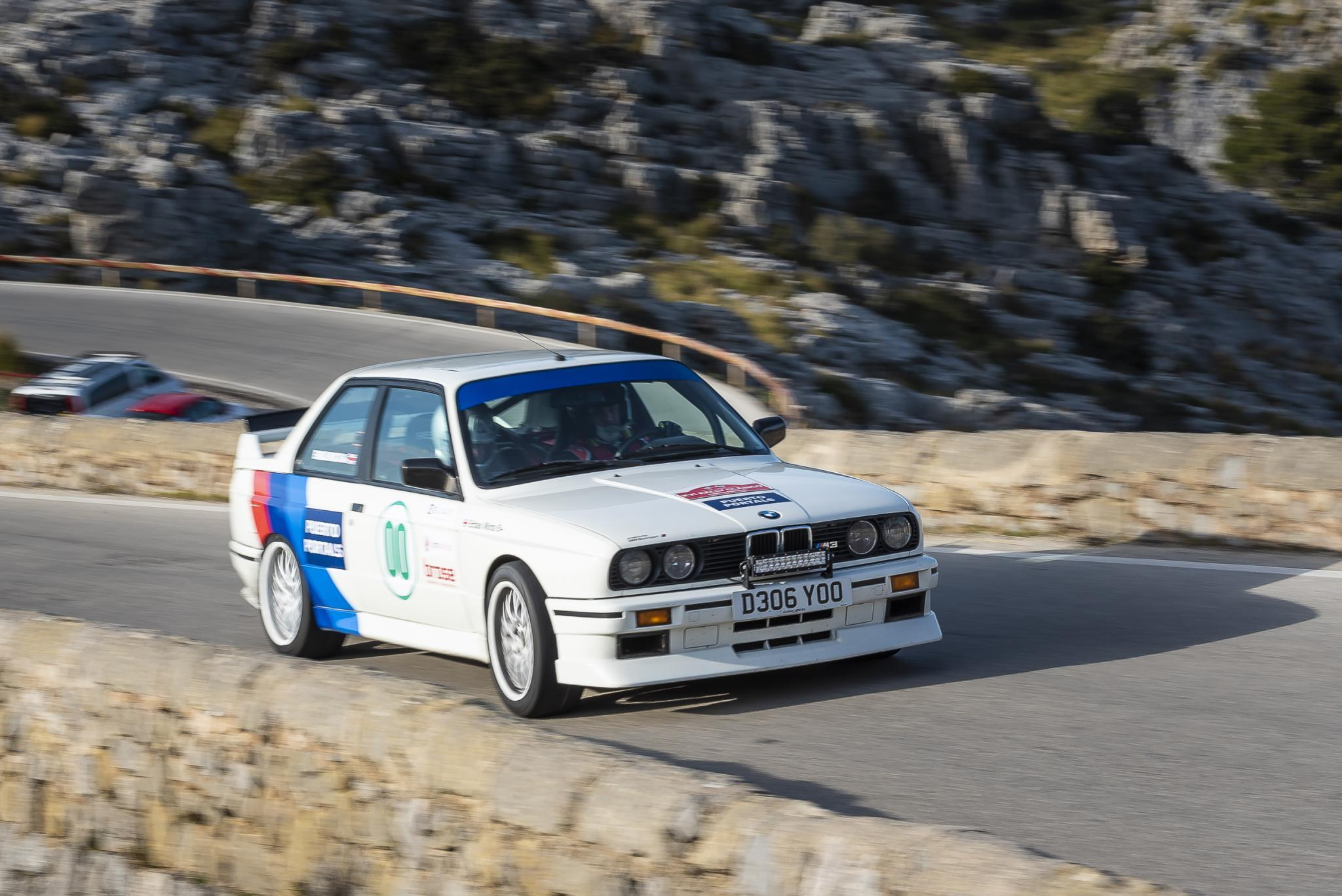 The stars were also out racing, here's Jay Kay in his M3 BMW.