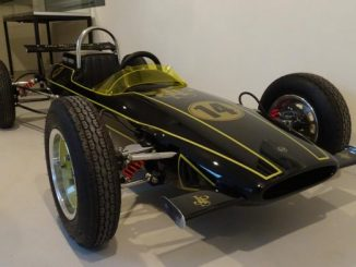 Classic cars and vintage Formula 1 photos at Zandvoorts Museum