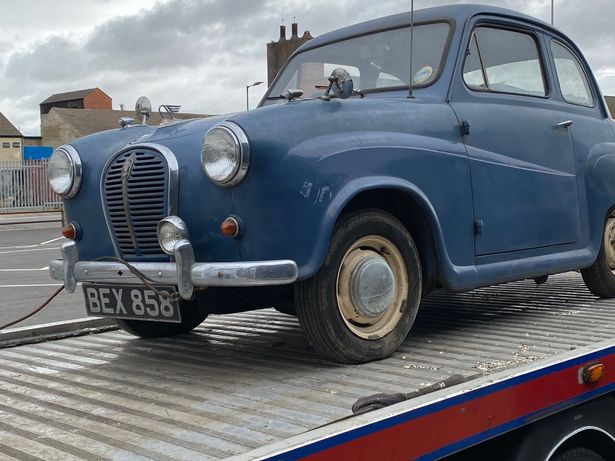 Classic Austin car that hasnt been driven since 70s discovered