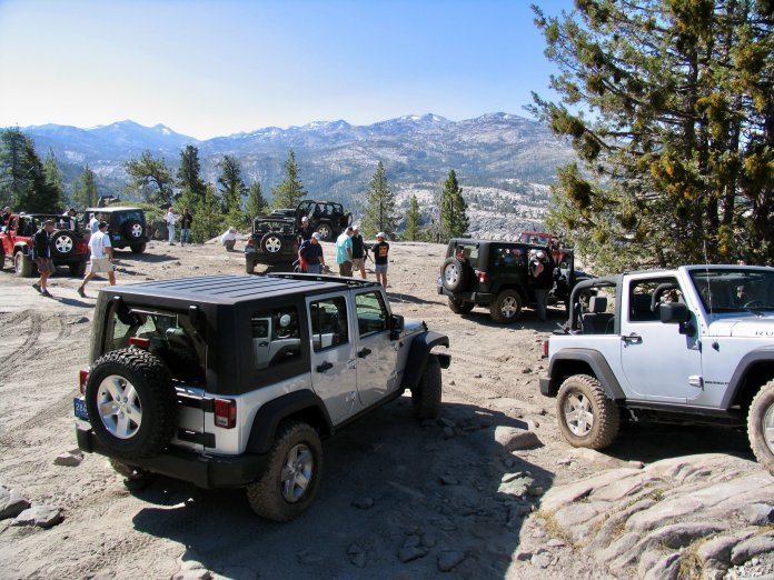 Jeep owners pursue merit badges for their vehicles