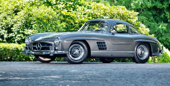 1955 Mercedes 300 SL Gullwing tops Artcurials Monaco auction