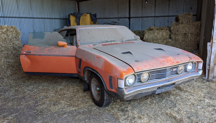 Australias Rarest Ford Supercar Goes Up For Auction In Queensland