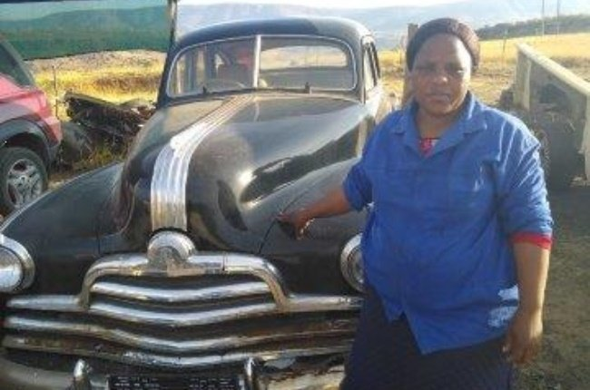 This Eastern Cape woman transforms rustbuckets into vintage dream cars