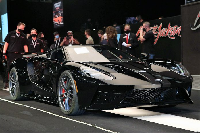 Barrett Jackson is back with live auction reaching nearly 25 million