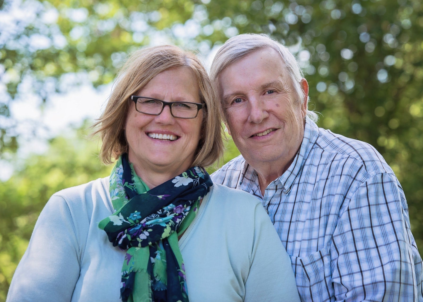 Daniel Boon and his wife, Marlene, pose for a photo in summer 2019. Daniel died of COVID-19 on Sept. 26.