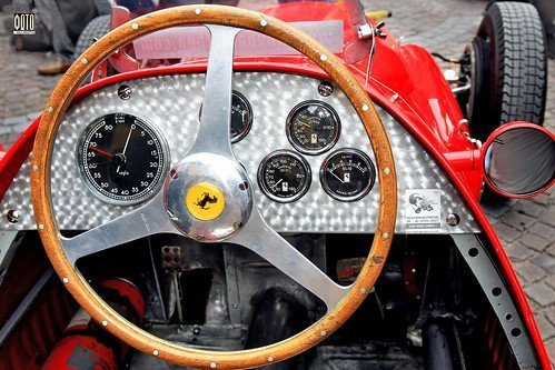 Ferrari 500 F2 dashboard original Ascari car (c) 2015 Бернхард Эггер :: ru-moto images | pure passion classic sports car 4616