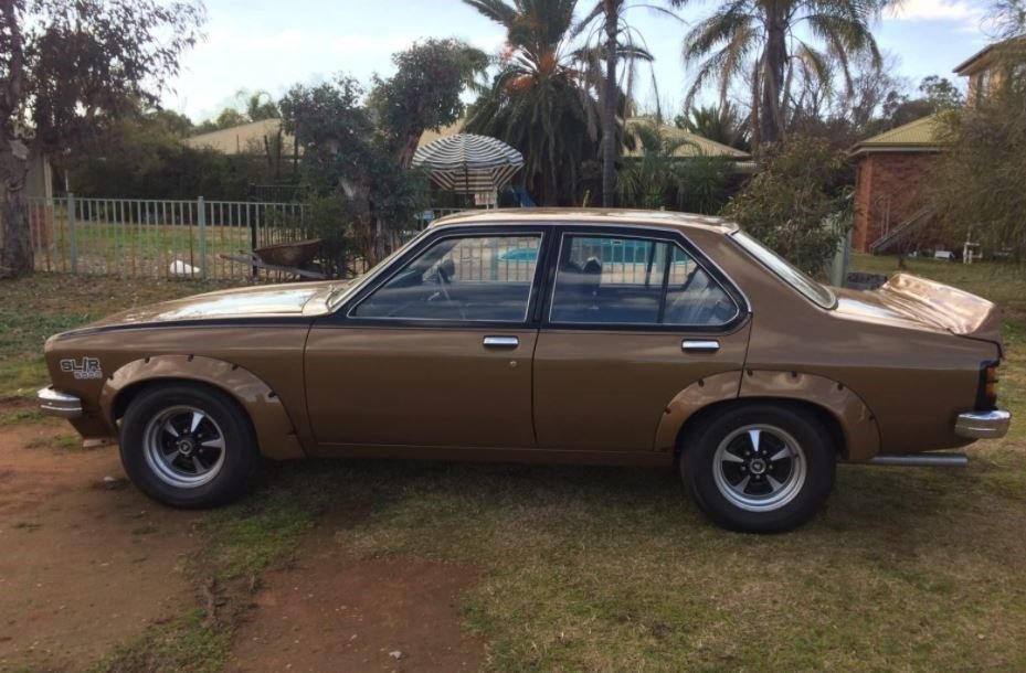 Is he dreaming Classic Holden Torana emerges for sale at