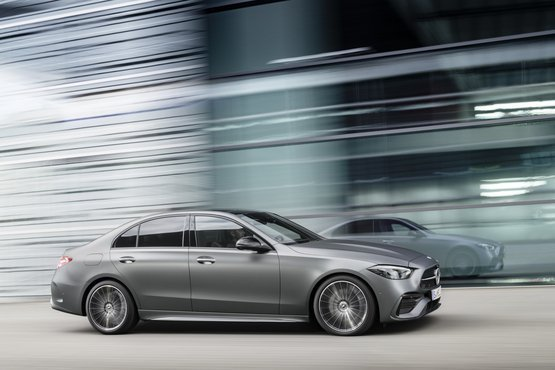 Mercedes reveals new C Class gallery