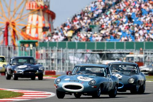 Special anniversary catwalk to celebrate E Types 60th in Classic style