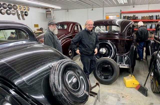 On the road again: AACA members exercise their classics