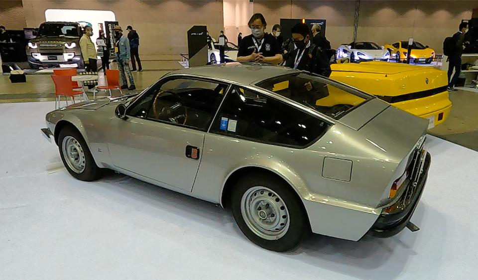 The Alfa Romeo 1600 Junior Zagato is a beautifully proportioned classic from 1973.