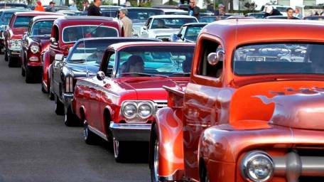 Cars and Guitars Classic Car Show in Commack.