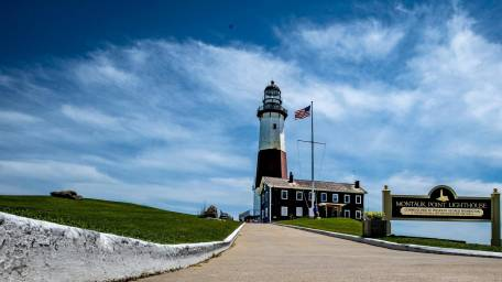 Visit the Montauk Lighthouse and learn about it's