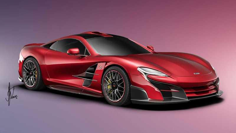New Rendering Imagines a Modern Mercedes SL McLaren And We Want One - image 980956