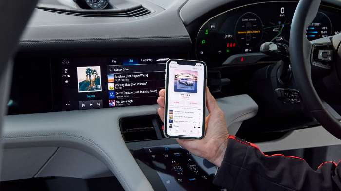 Porsche Plans To Use OTA Revisions To Taycan Responds To
