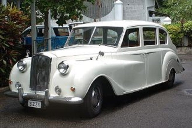 Return of a Princess Seychelles first car to be restored