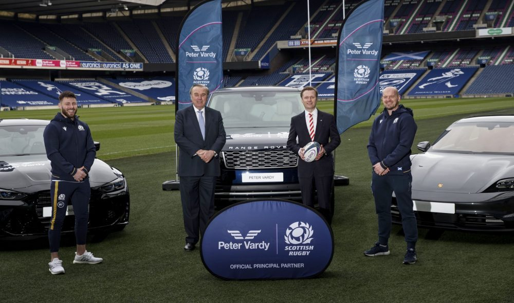 Scottish Rugby signs Peter Vardy Group as new partner and