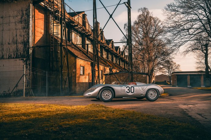 This Porsche 718 RSK is your ticket to the world