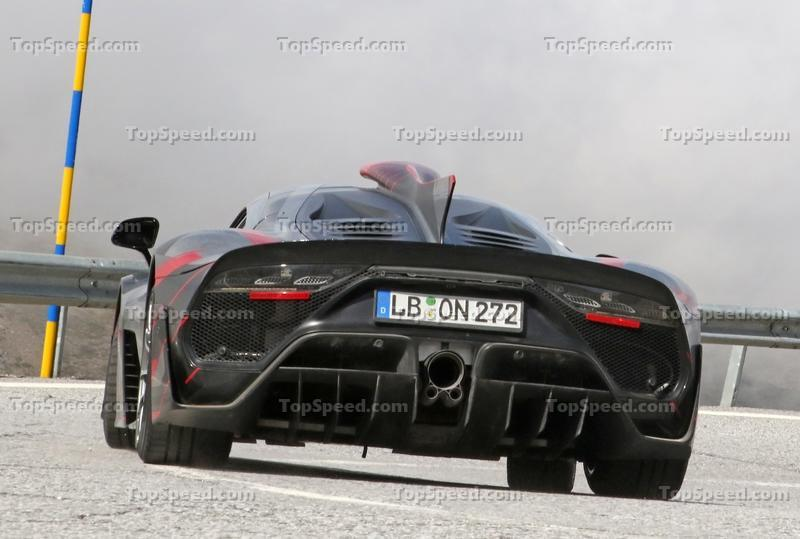 Mercedes-AMG Project One caught in production shape Exterior Spyshots - image 986262