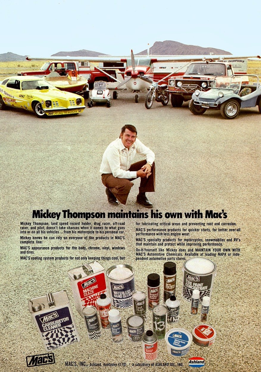 A half century of quarter mile coverage