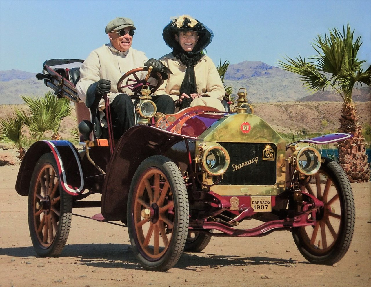 Intrepid rallyist weathers elements in pre 1915 cars and motorcycles