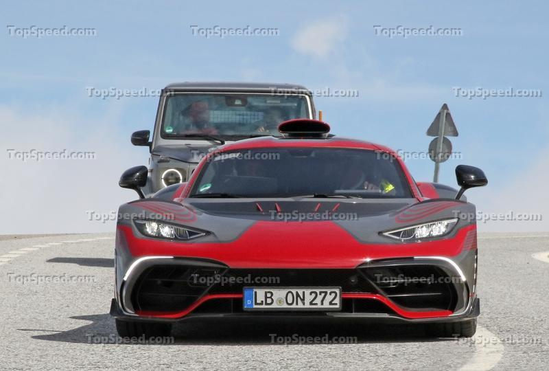 Mercedes-AMG Project One caught in production shape Exterior Spyshots - image 986257