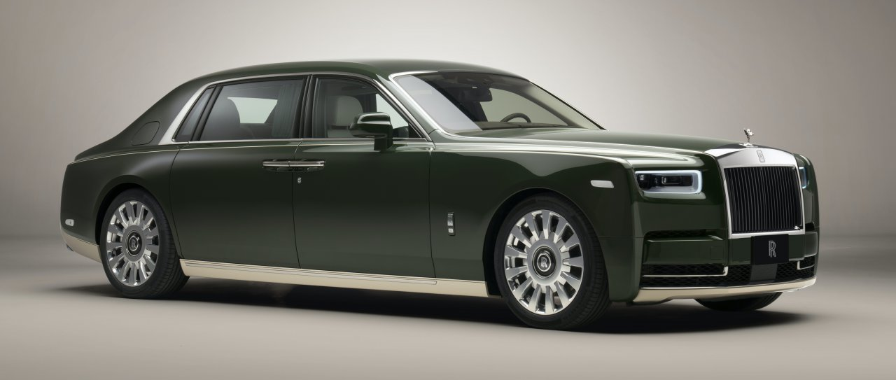 One off Rolls Royce inspired by ancient Japanese ceramics