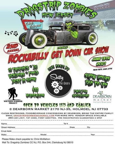 Rock A Billy Get Down Car Show to Feature Cars Vendors Food