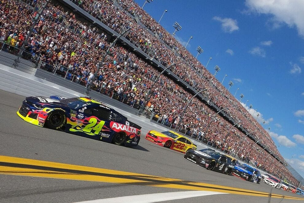 There's nothing like witnessing a NASCAR event in person