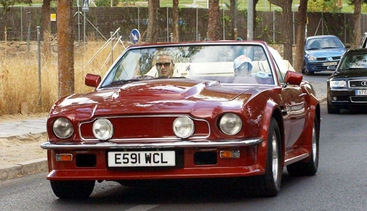David and Victoria Beckham's Aston Martin carried a price tag of almost half a million pounds