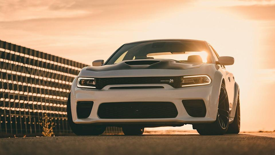 Newly designed front fascia on the 2020 Dodge Charger Scat Pack Widebody includes a new mail slot grille opening, providing the most direct route for cool air to travel into the radiator, to maintain ideal operating temperature even in the hottest conditions.