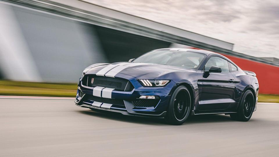 To improve the new Ford Mustang Shelby® GT350 driver confidence and lap times, Ford Performance leveraged its Mustang road course racing programs and all-new upcoming Shelby® GT500, infusing GT350 with the very latest in track and street technology.