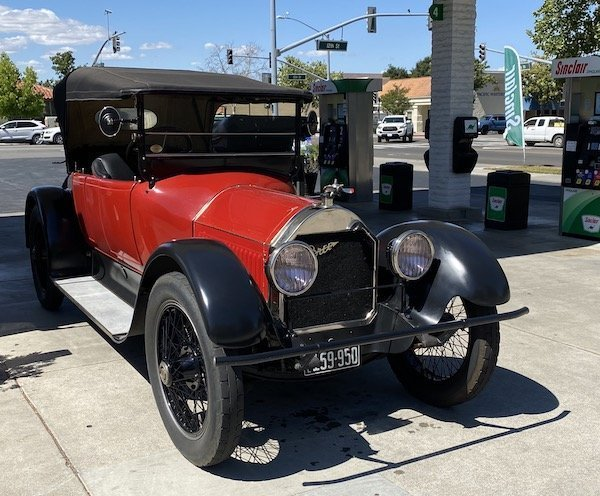 Classic cars built before 1925 visit Paso Robles
