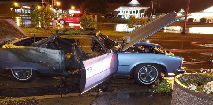 Driver Thanks Marshfield Police Fire Departments After Thursday Night