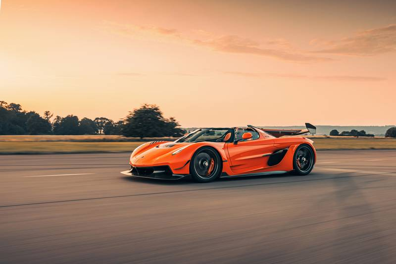 Tang Orange Pearl Is The Right Color For the Koenigsegg Jesko - image 1002694