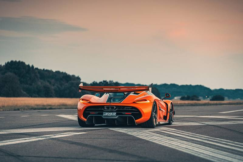 Tang Orange Pearl Is The Right Color For the Koenigsegg Jesko - image 1002698