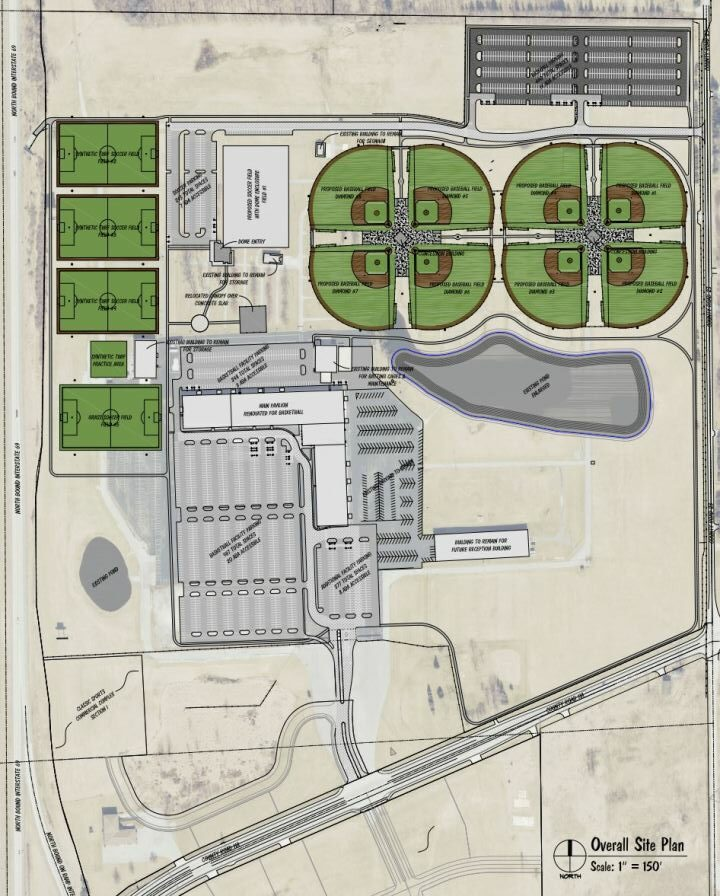 Developers plan to turn Auburn Auction Park into sports complex