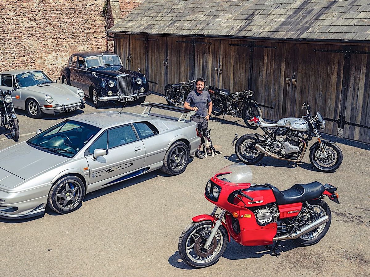 Richard Hammond funds restoration business with sale of personal vehicles