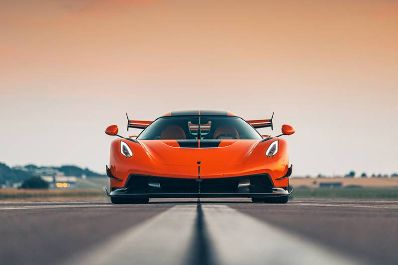 Tang Orange Pearl Is The Right Color For the Koenigsegg Jesko - image 1002692