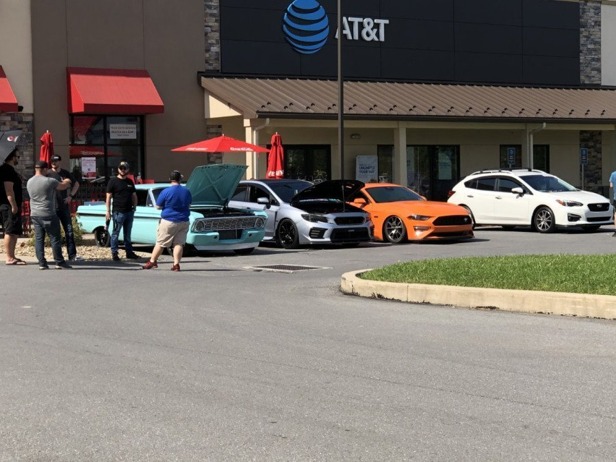 Williamsport community members come together for a Cars and Coffee