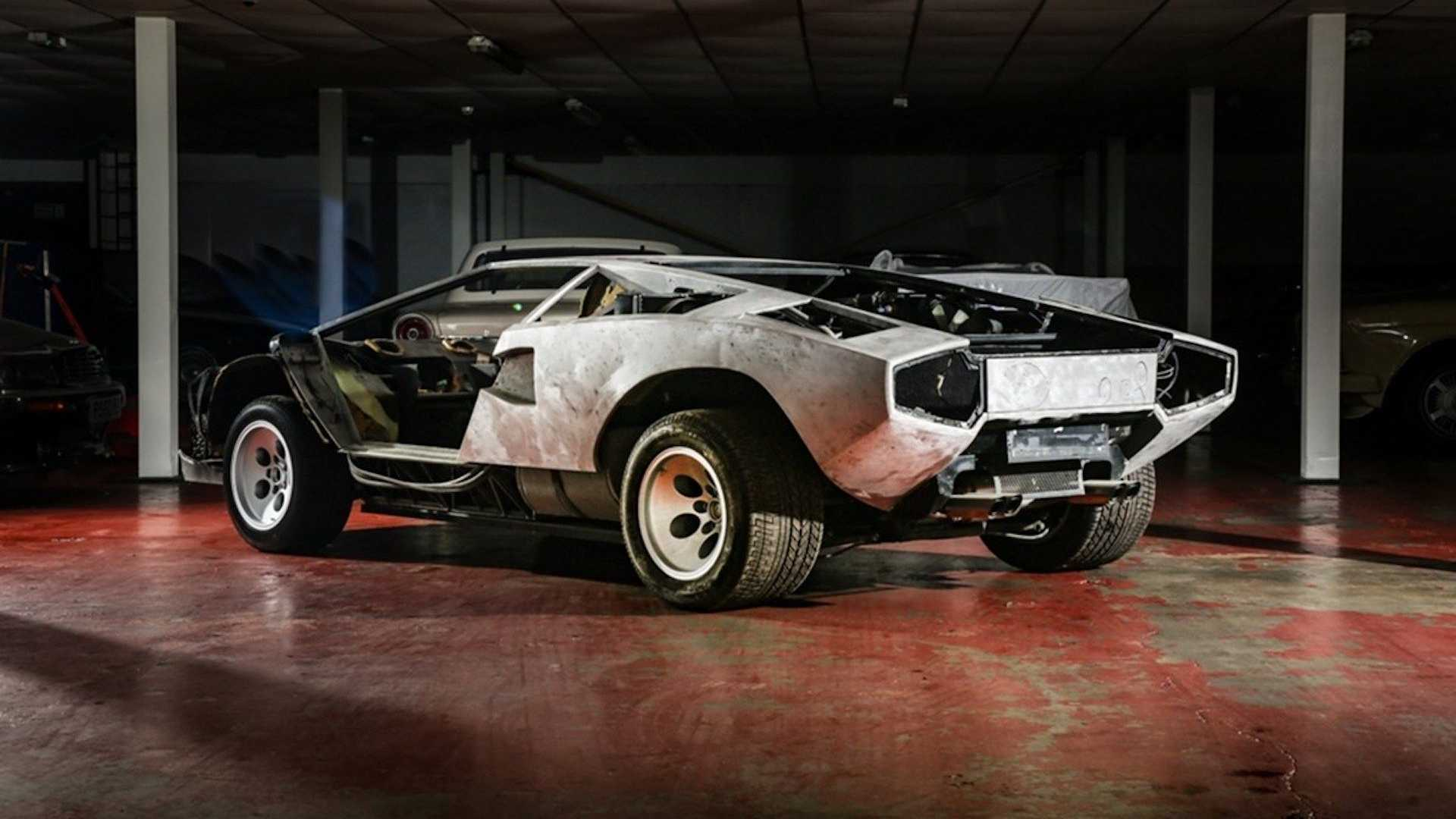 Cheapest Classic Lamborghini Countach Up For Sale But Theres A