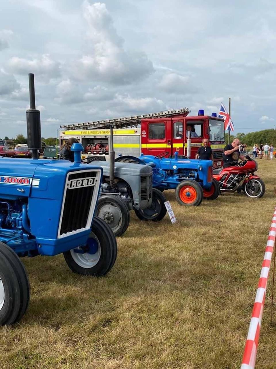 Max has been organising the classic car shows for seven years. (Collect/PA Real Life)