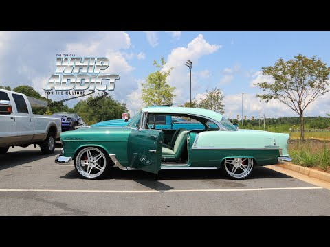 Spearmint 1955 Chevy Bel Air Looks Pristine Rips Highway on