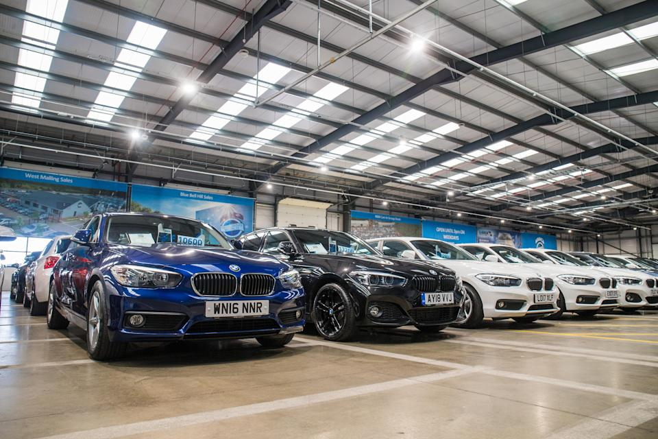 These are the used car finance capitals of the UK