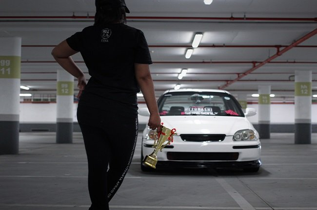 Watch out boys This Cape Town petrolhead shows off her